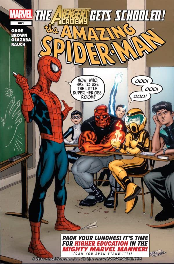 Amazing Spider-Man (1999-2013) #661