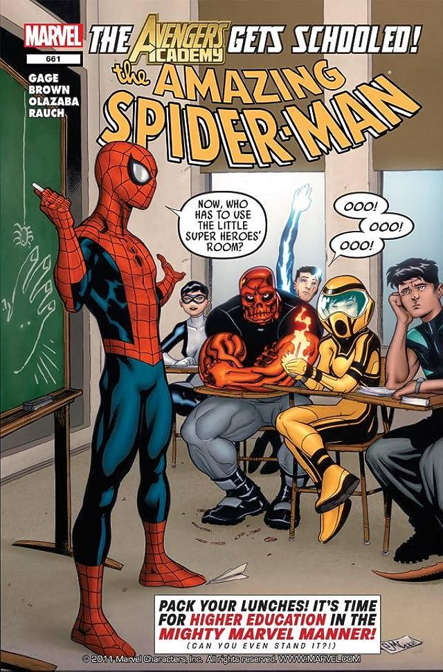 Amazing Spider-Man (1999-2013) #661