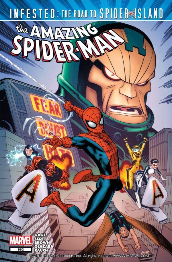 Amazing Spider-Man (1999-2013) #662