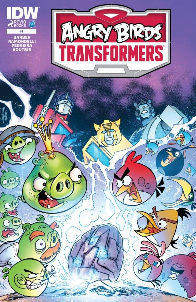 Angry Birds/Transformers #1 (of 4)