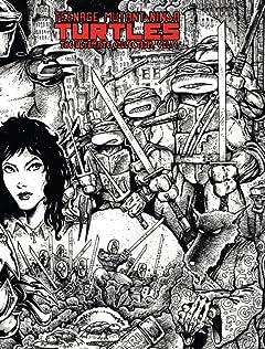 Teenage Mutant Ninja Turtles: The Ultimate B&W Collection Vol. 1