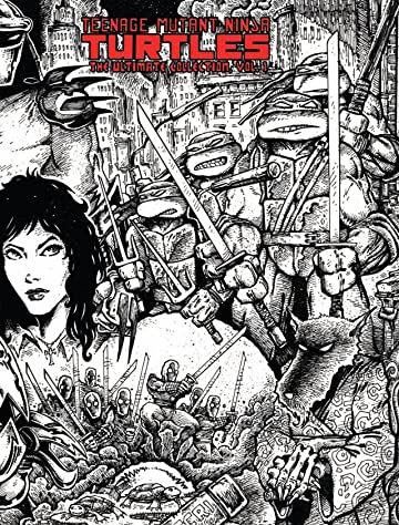 Teenage Mutant Ninja Turtles: The Ultimate B&W Collection Vol. 1