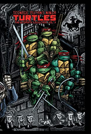 Teenage Mutant Ninja Turtles: The Ultimate B&W Collection Tome 3