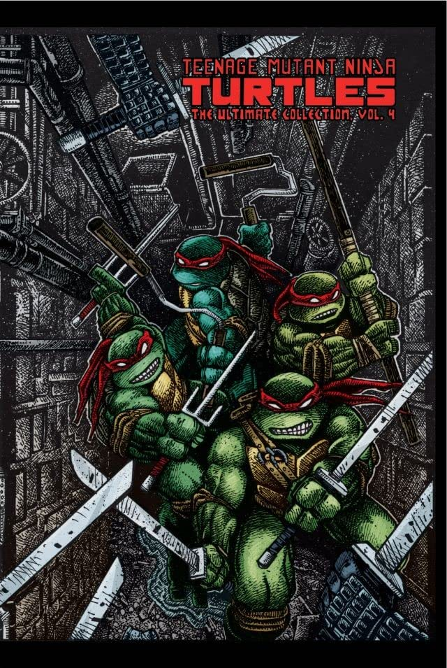 Teenage Mutant Ninja Turtles: The Ultimate B&W Collection Vol. 4