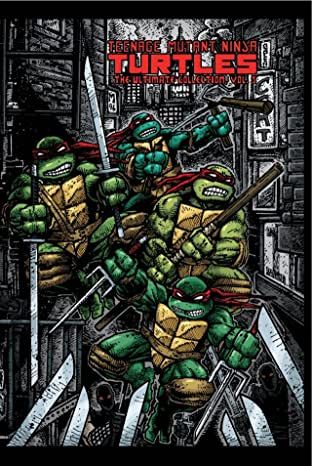 Teenage Mutant Ninja Turtles: The Ultimate B&W Collection Tome 5