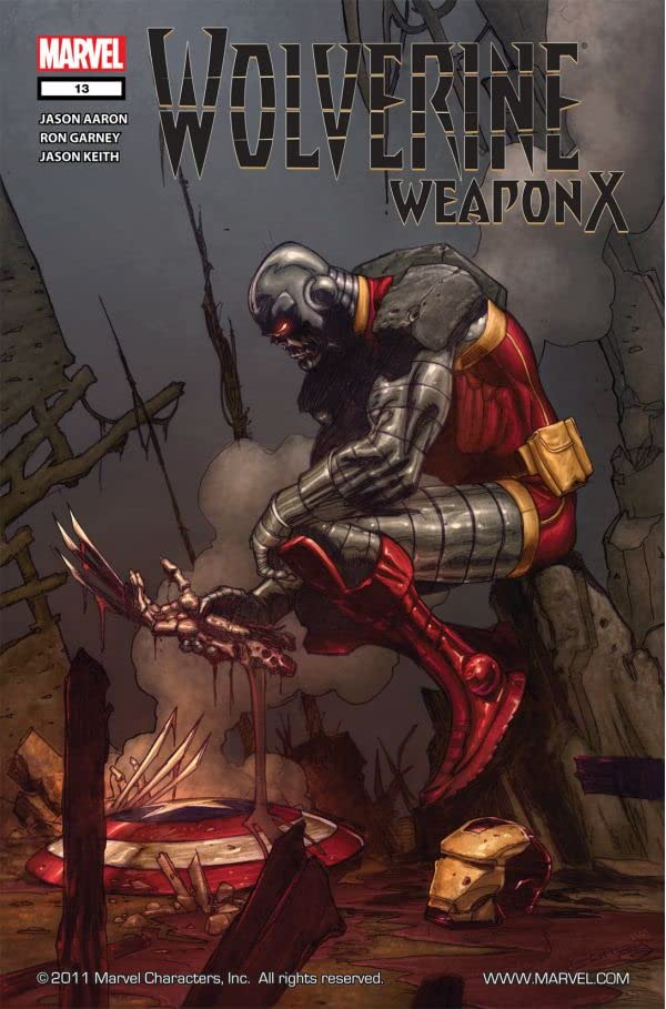 Wolverine: Weapon X #13