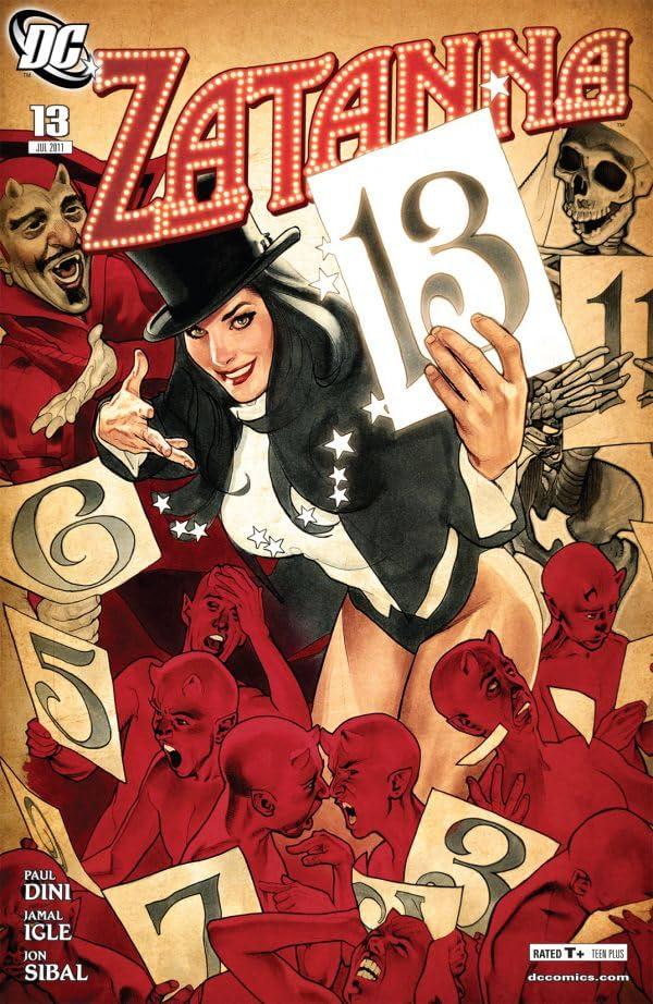 Zatanna (2010-2011) #13