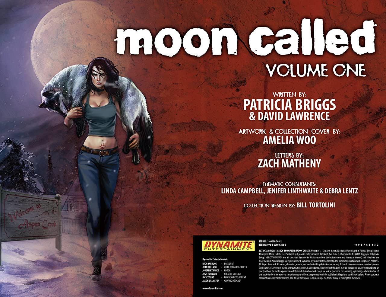 Patricia Briggs' Mercy Thompson: Moon Called Tome 1