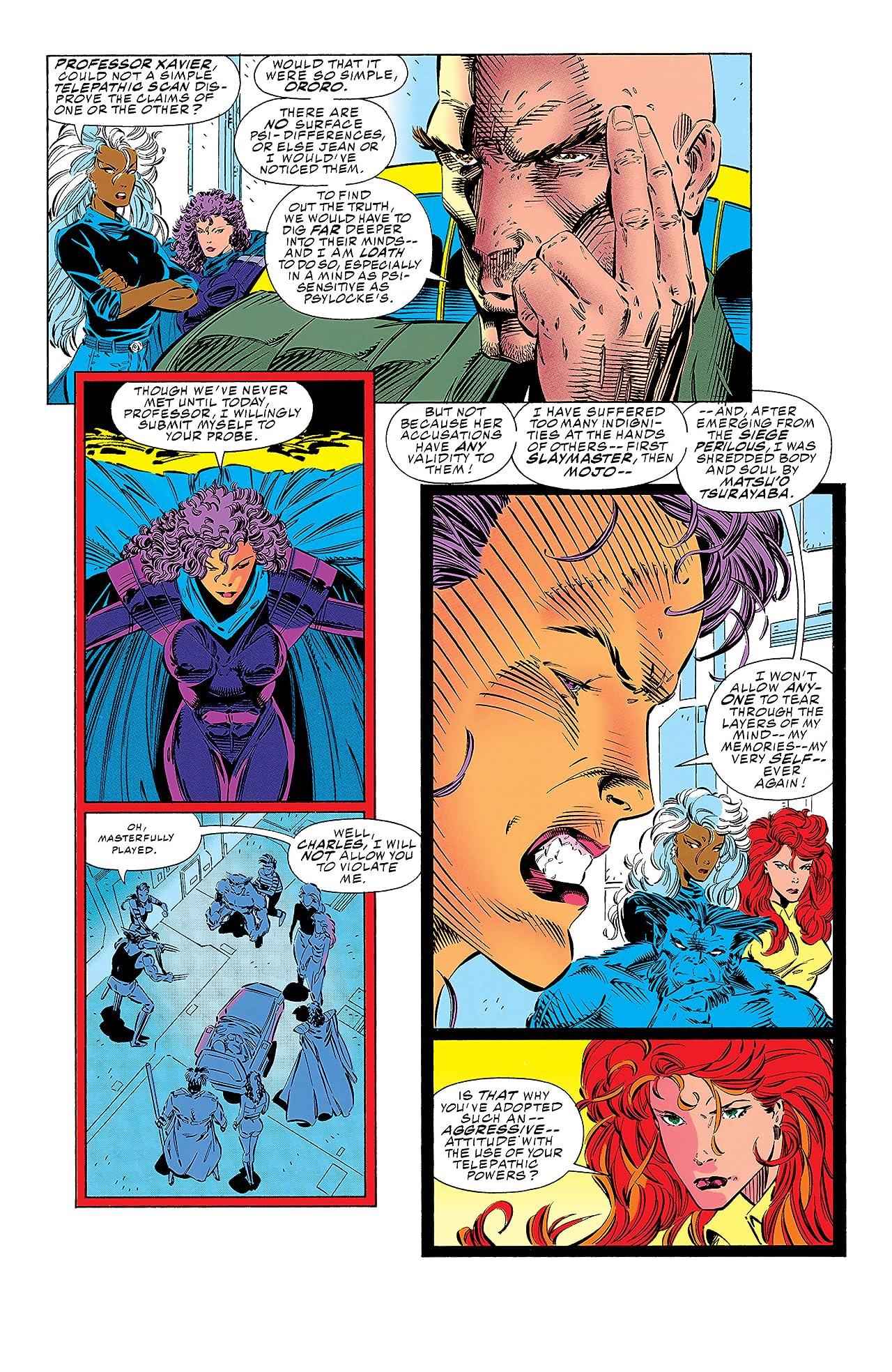 X-Men (1991-2001) #21
