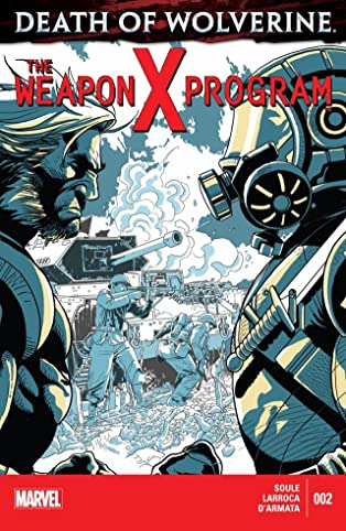 Death of Wolverine: The Weapon X Program #2 (of 5)