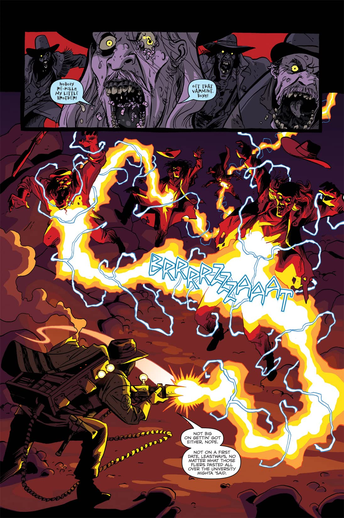 Ghostbusters: Displaced Aggression #1