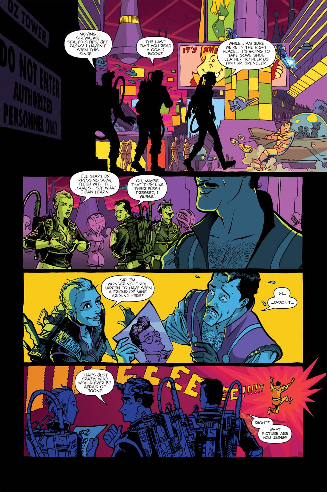 Ghostbusters: Displaced Aggression #3