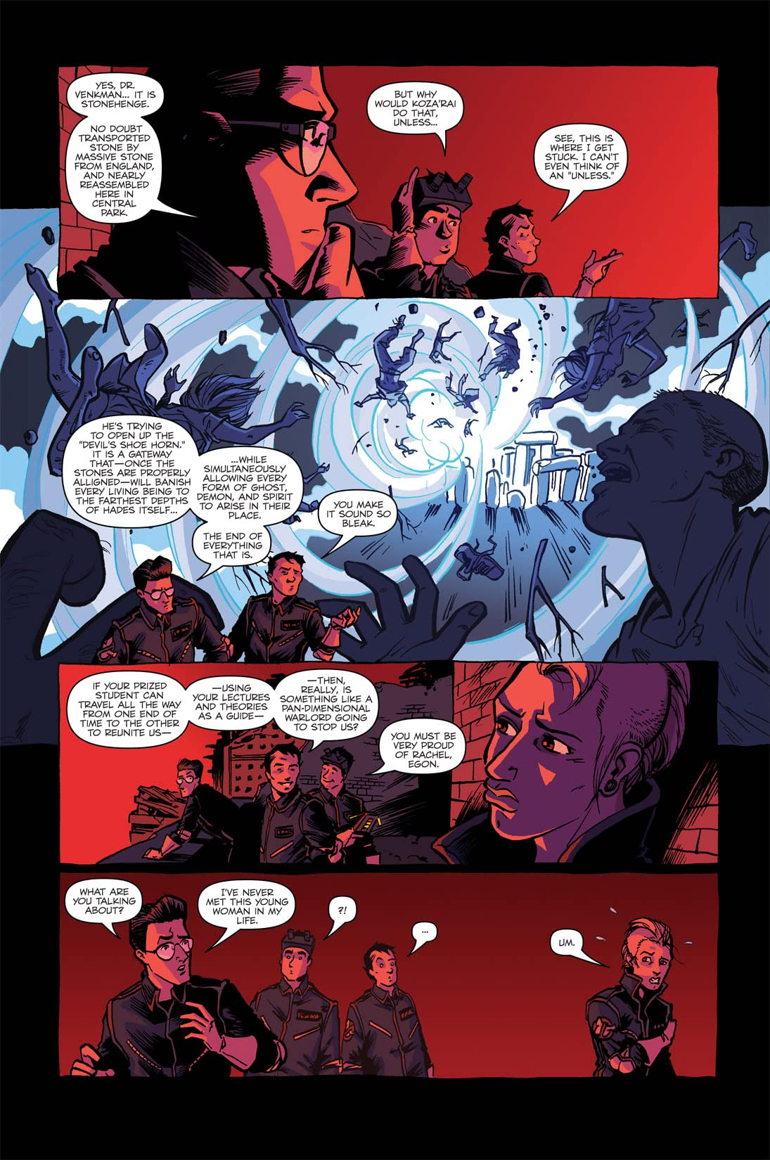 Ghostbusters: Displaced Aggression #4