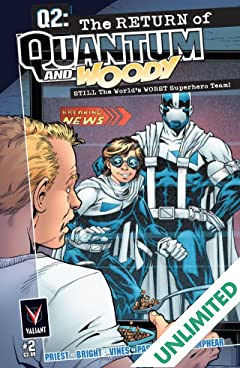 Q2: The Return of Quantum and Woody (2014) #2 (of 5): Digital Exclusives Edition