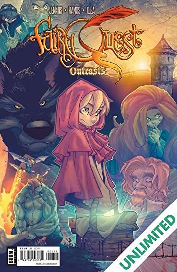 Fairy Quest: Outcasts #1 (of 2)