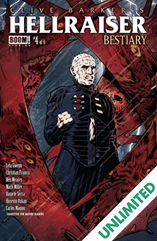 Clive Barker's Hellraiser: Bestiary #4
