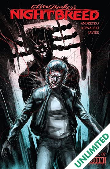 Nightbreed Comic Book