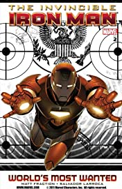 Invincible Iron Man Tome 2: World's Most Wanted Book 1