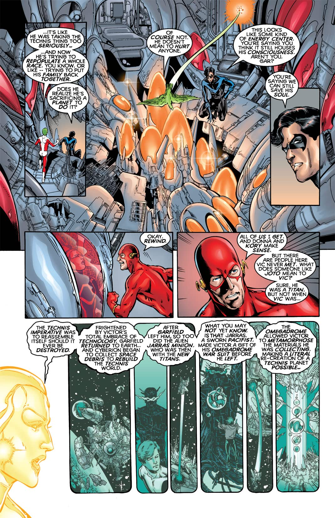 JLA/The Titans #2 (of 3)