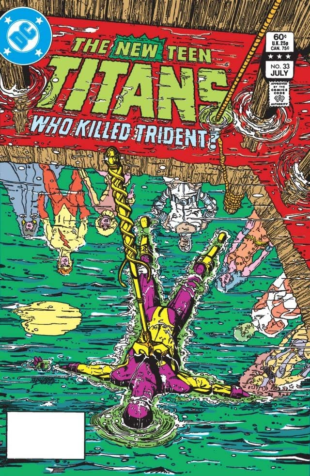 New Teen Titans (1980-1988) #33