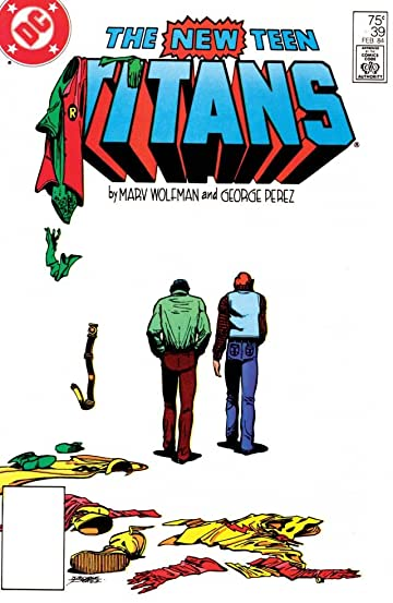 New Teen Titans (1980-1988) #39