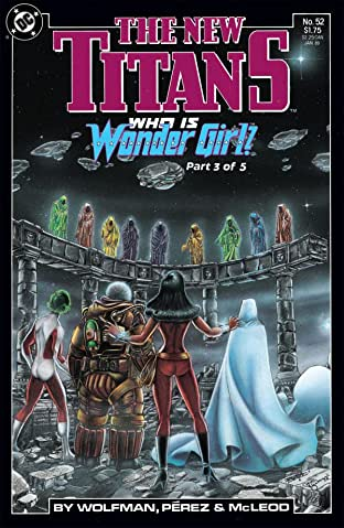 The New Titans (1984-1996) #52