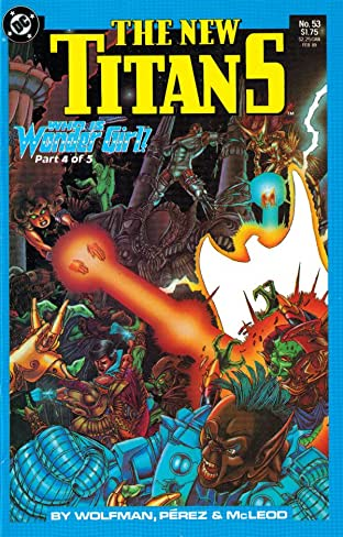 The New Titans (1984-1996) #53