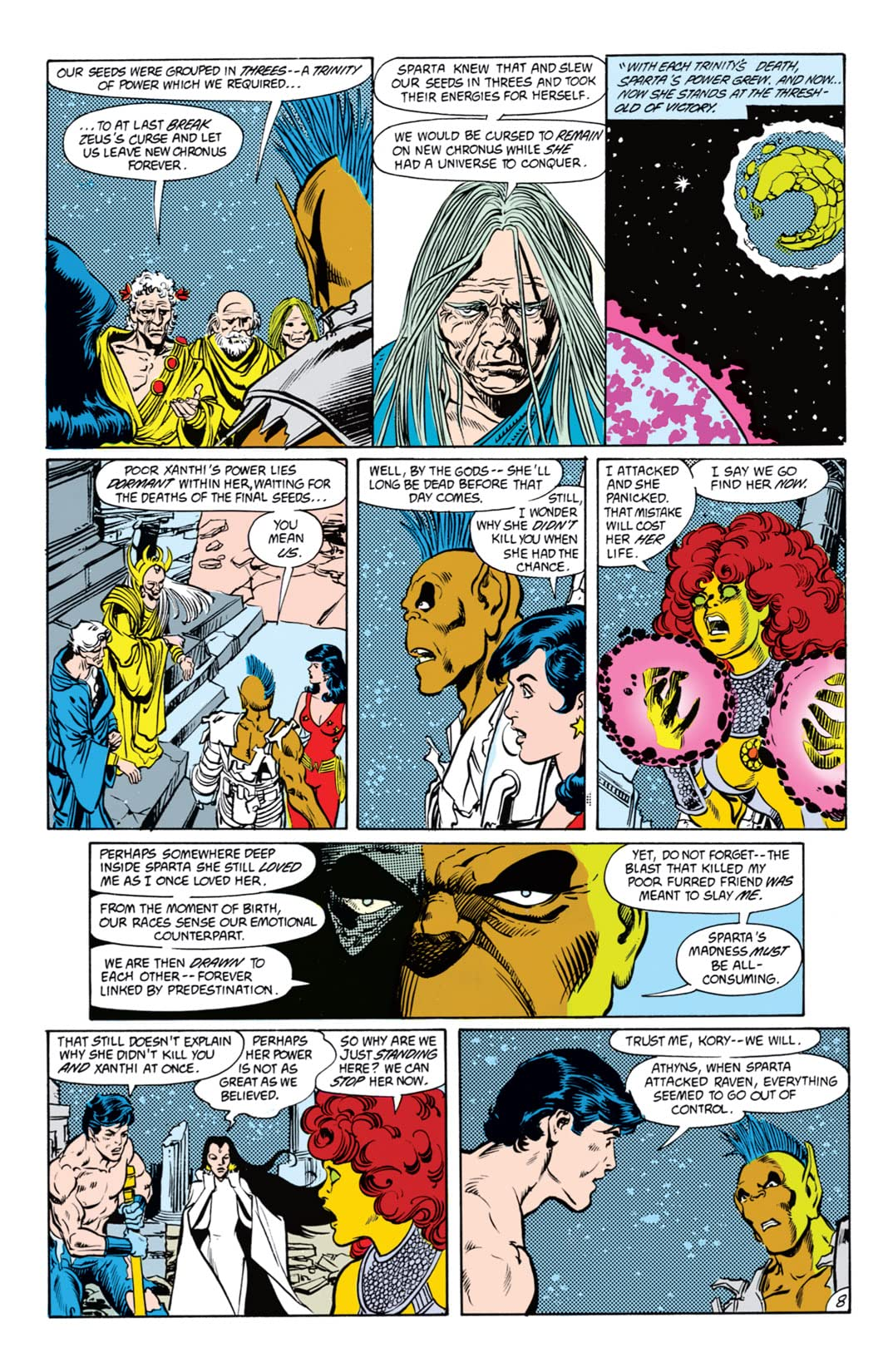 The New Titans (1984-1996) #54