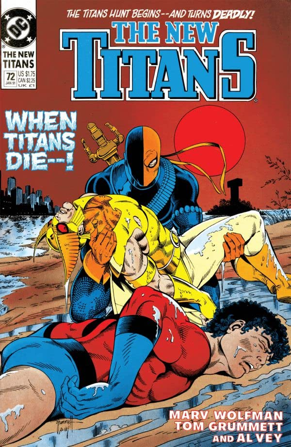 The New Titans (1984-1996) #72