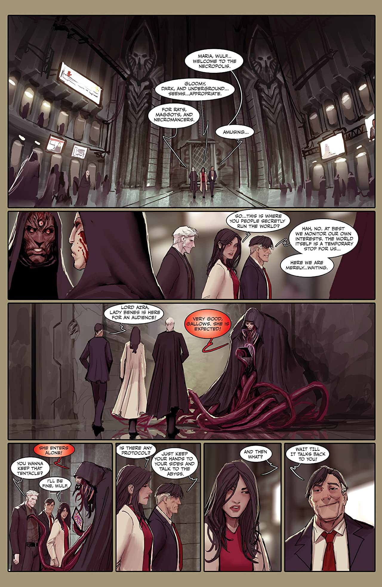 Death Vigil #5 (of 8)