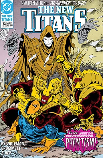 The New Titans (1984-1996) #73
