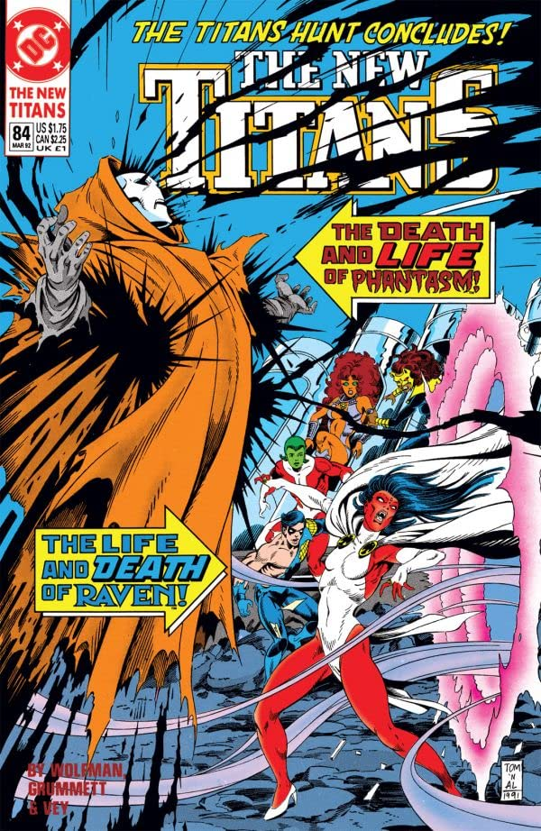 The New Titans (1984-1996) #84