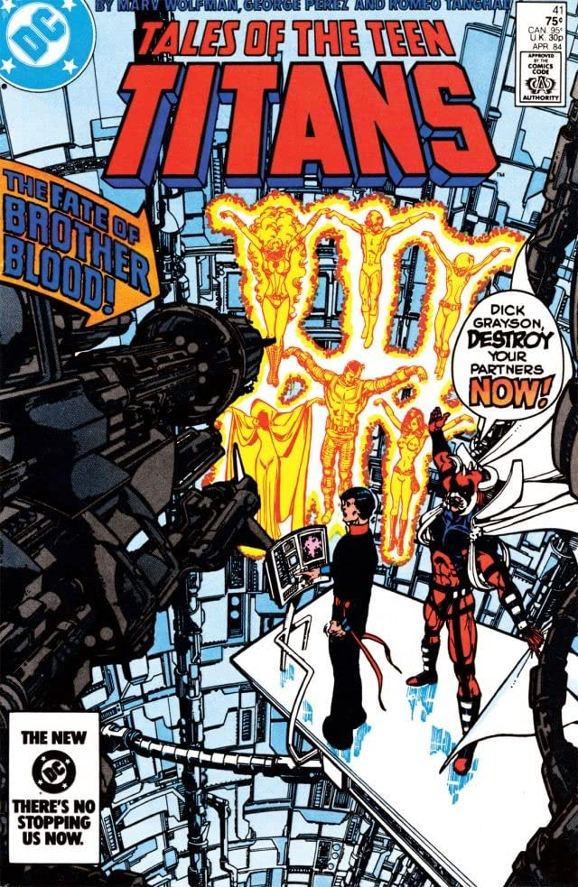 Tales of the Teen Titans (1980-1988) #41