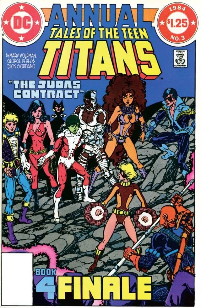 Tales of the Teen Titans (1980-1988): Annual #3