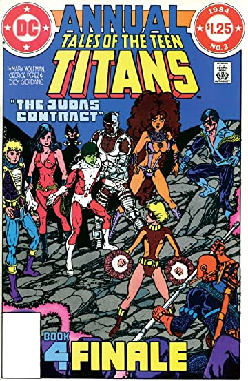 Tales of the Teen Titans (1980-1988) #3: Annual