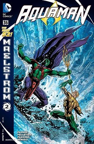 Aquaman (2011-2016) No.36