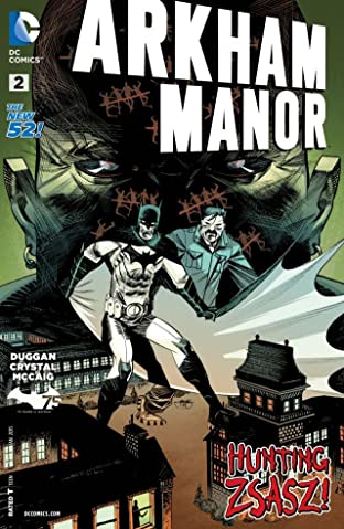 Arkham Manor (2014-2015) #2