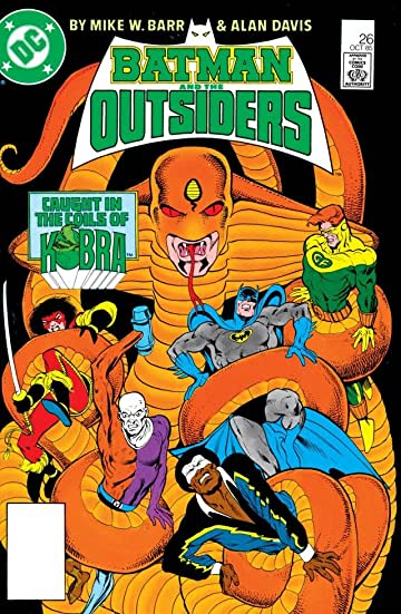 Batman and the Outsiders (1983-1987) #26