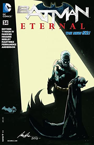 Batman Eternal (2014-2015) #34