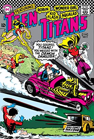 Teen Titans (1966-1978) No.3