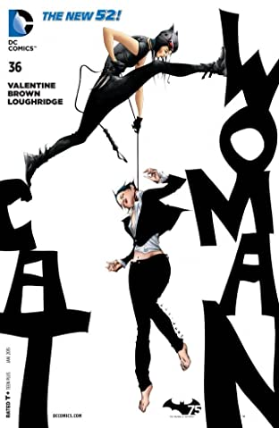 Catwoman (2011-2016) #36