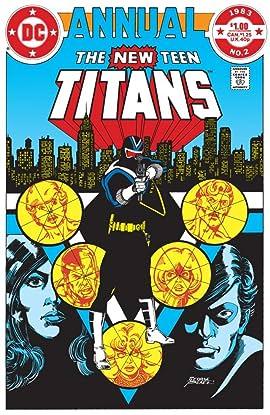 New Teen Titans (1980-1988): Annual #2