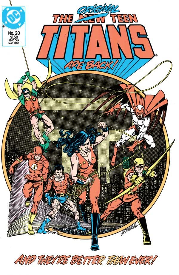 The New Teen Titans (1984-1996) #20