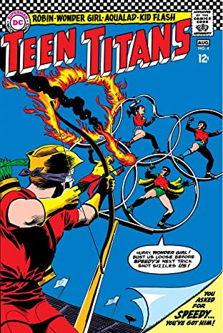 Teen Titans (1966-1978) No.4