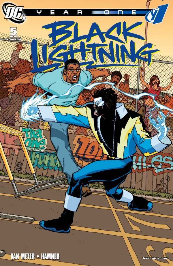 Black Lightning: Year One #5 (of 6)