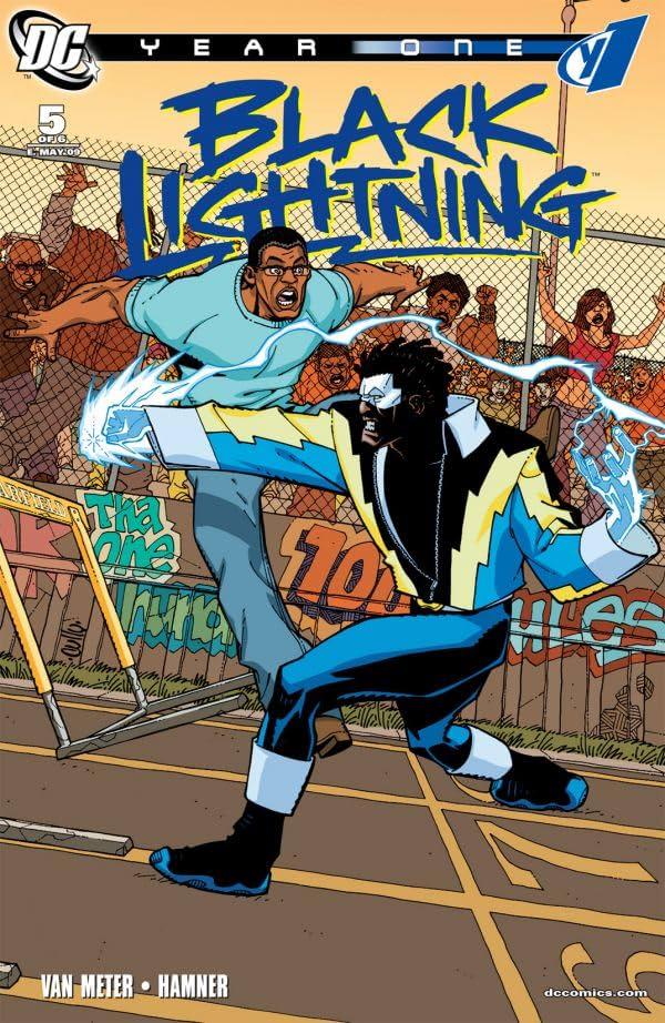 Black Lightning: Year One #5 (of 6)