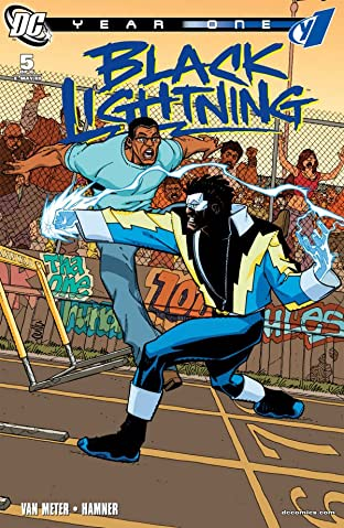 Black Lightning: Year One No.5 (sur 6)