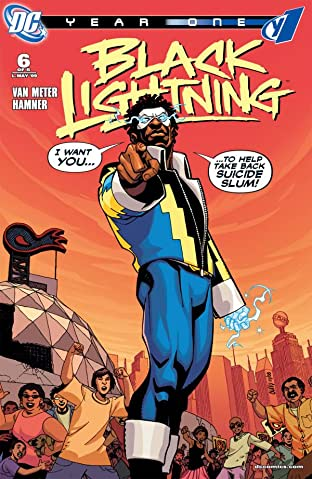 Black Lightning: Year One No.6 (sur 6)