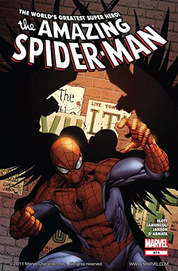 Amazing Spider-Man (1999-2013) #674