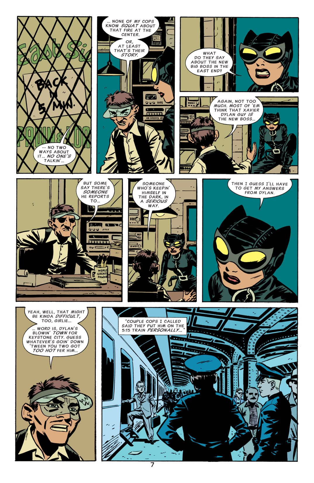 Catwoman (2002-2008) #15